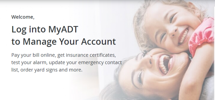 www.myadt.com – Pay The MyADT Bill Online