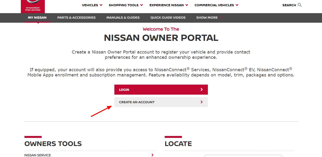 NOP Nissan Owner Portal