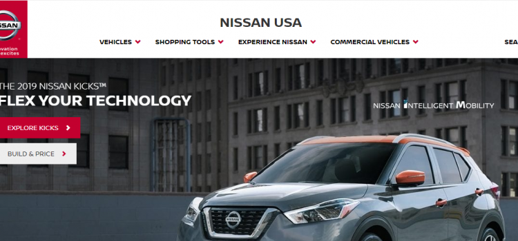 www.nissanusa.com – Pay The Nissan Finance Auto Loan Online