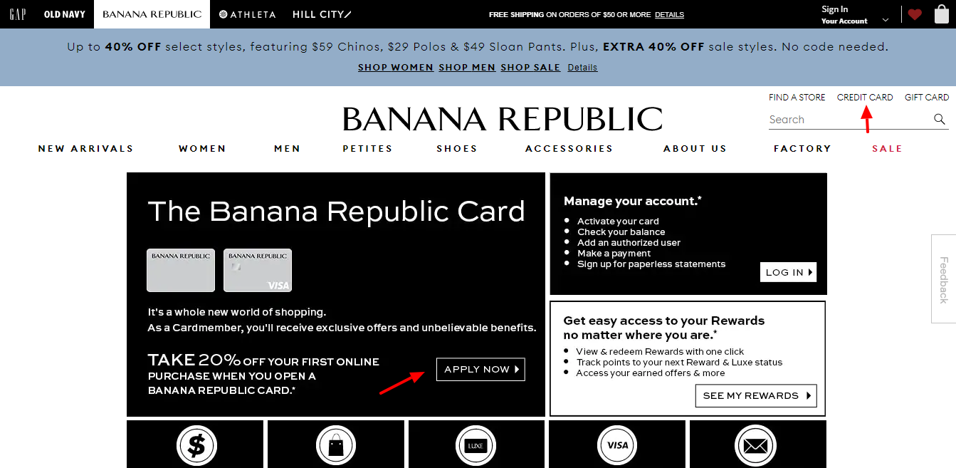 default Banana Republic