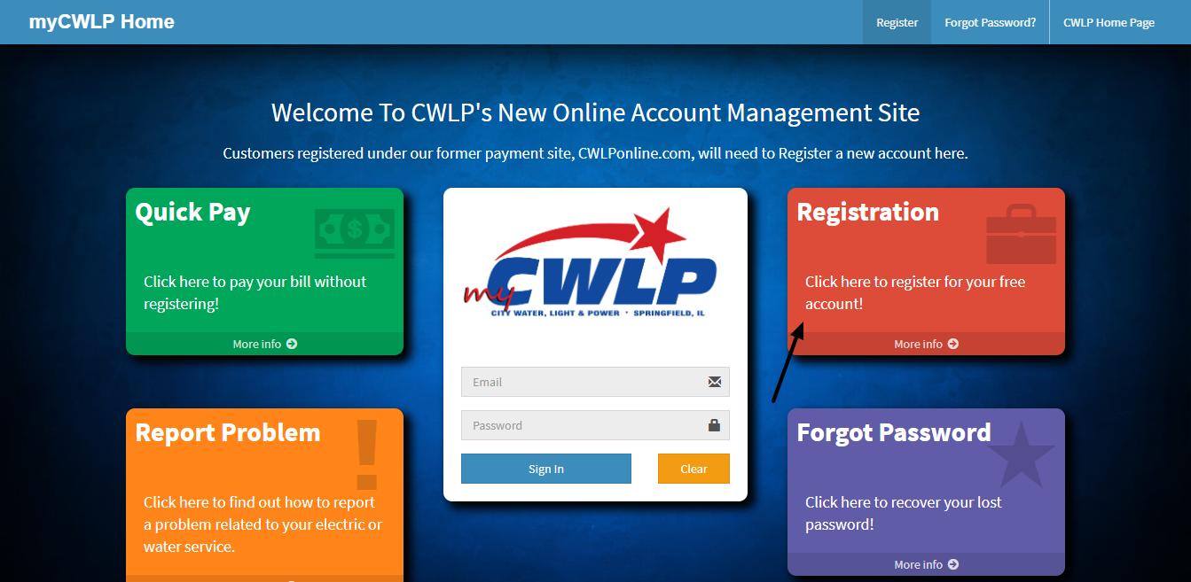 www cwlp com - Payment Guide For CWLP Bill Online -