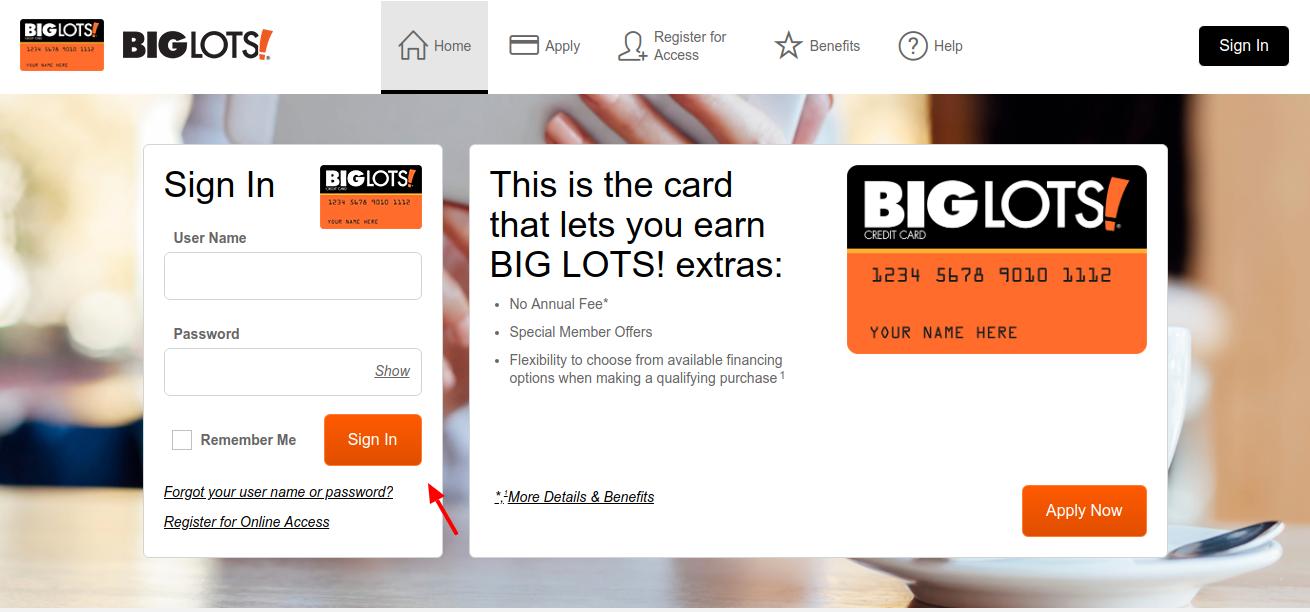 Big-Lots-Credit-Card-Login