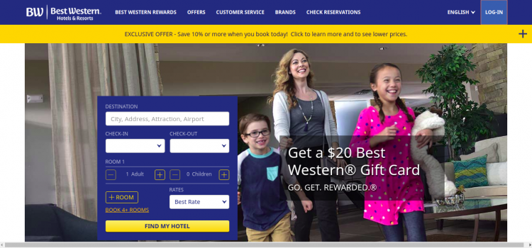www.bestwestern.com – Online Payment Process For Best Western Reward Master Card Bill