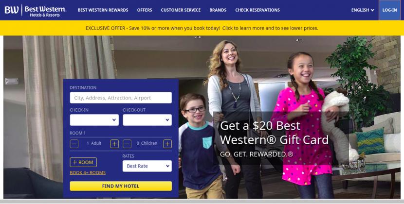 www.bestwestern.com – Online Payment Process For Best Western Reward Master Card Bill