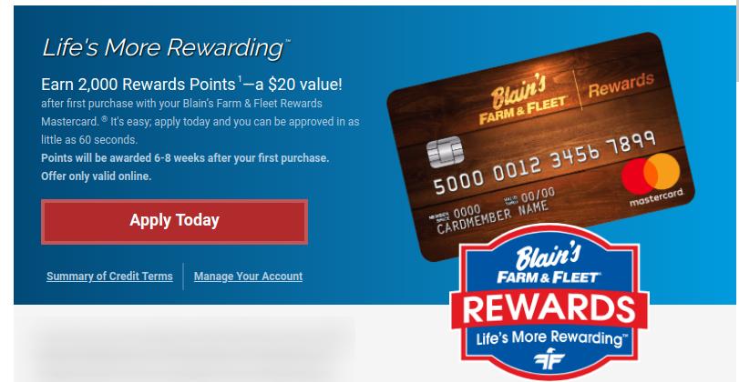www.farmandfleet.com – Blain's Farm & Fleet Credit Card Bill Payment Online
