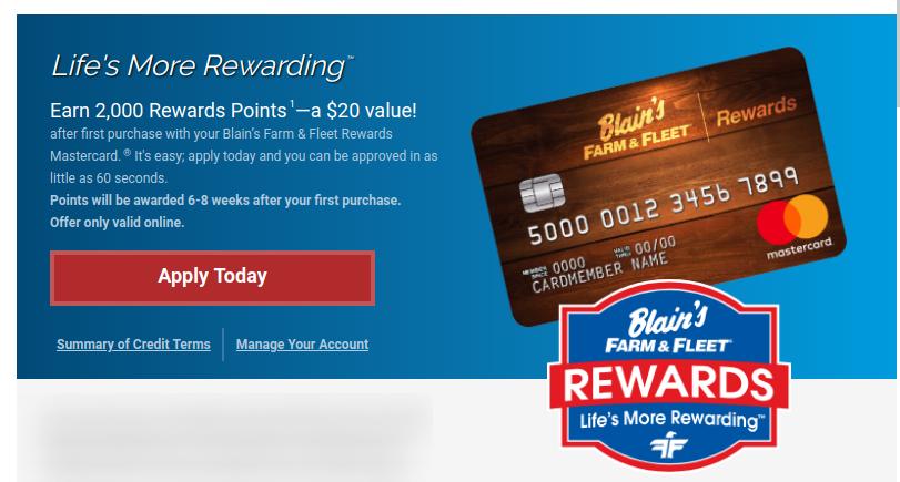 Www Farmandfleet Com Blain S Farm Fleet Credit Card Bill Payment Online