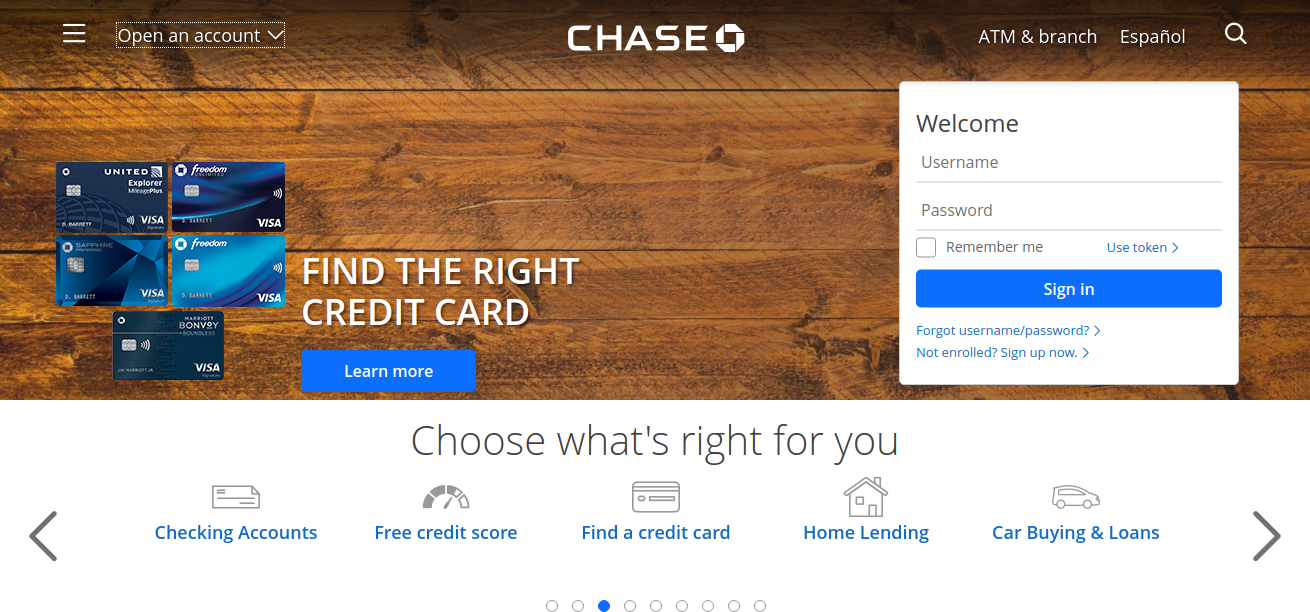 Credit-Card-Mortgage-Banking-Auto-Chase-Logo