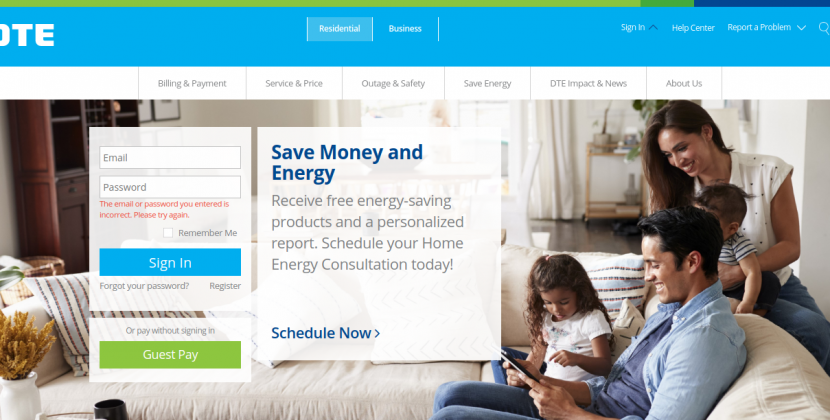 How To Pay The DTE Energy Bill Online