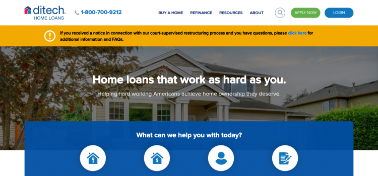 www.ditech.com – Payment Process For Ditch Mortgage Loan Online
