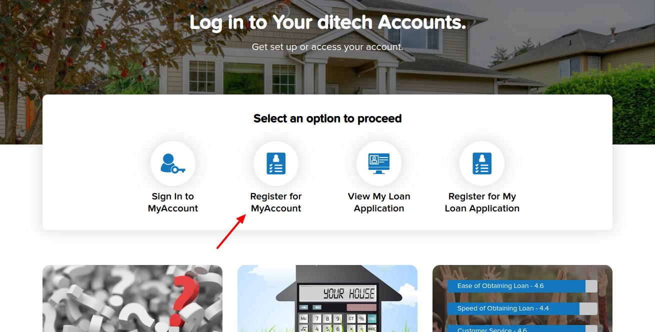 Ditch-register-account