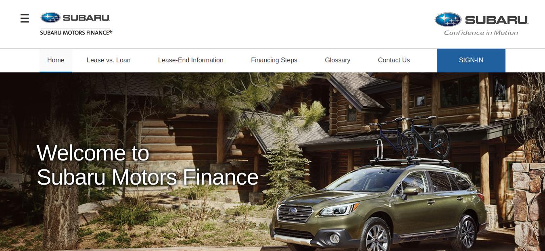 Chase Auto Finance Subaru >> Autofinance Chase Com Subaru Motors Finance Pay Your