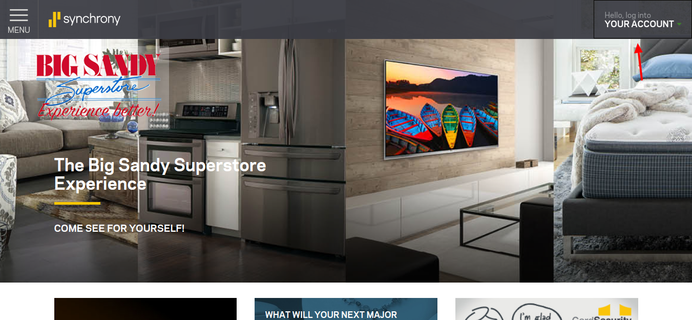 Superstore-Home-Manage-account