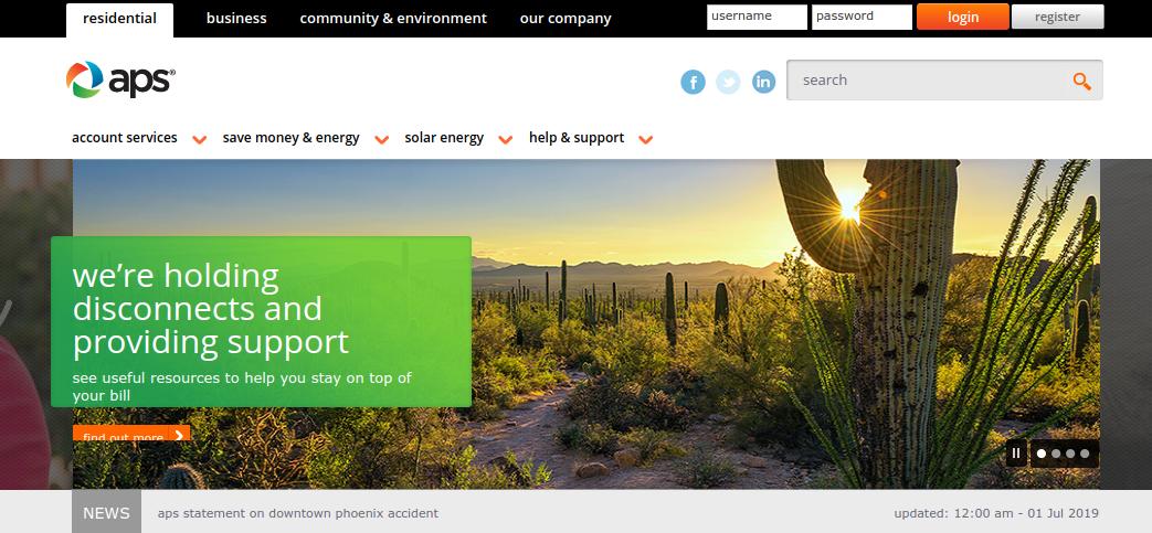 Www Aps Com Payment Process For Arizona Public Survice