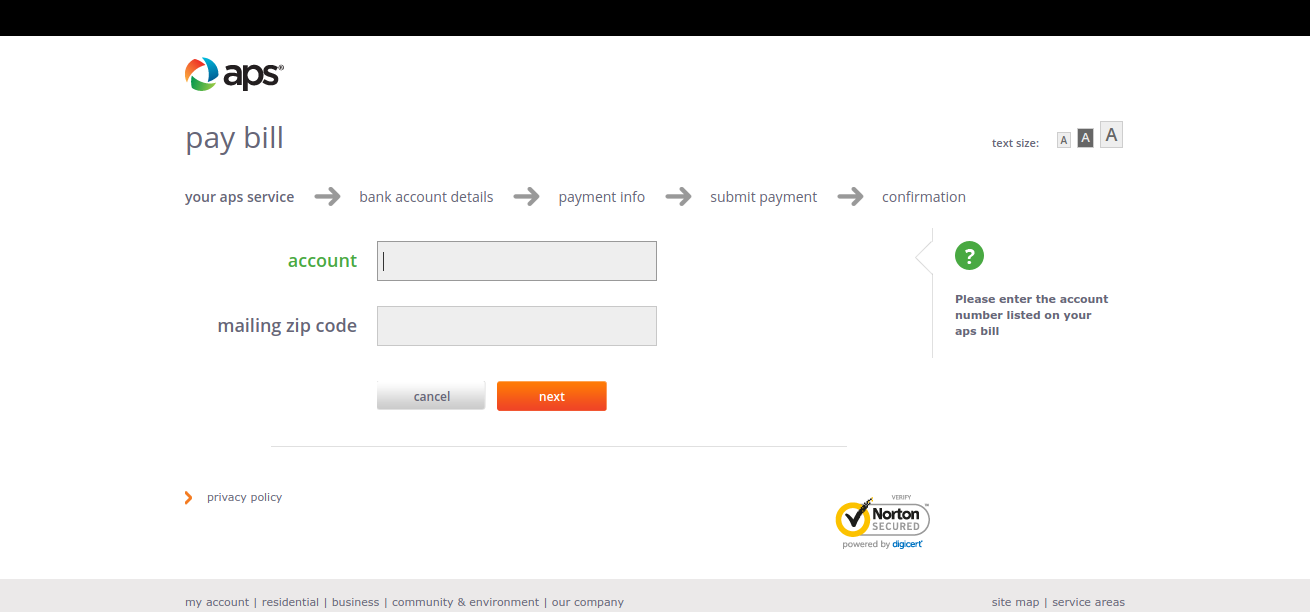aps-pay-account-info