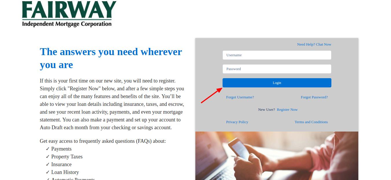 fairwayindependentmc-loanadministration-com-login