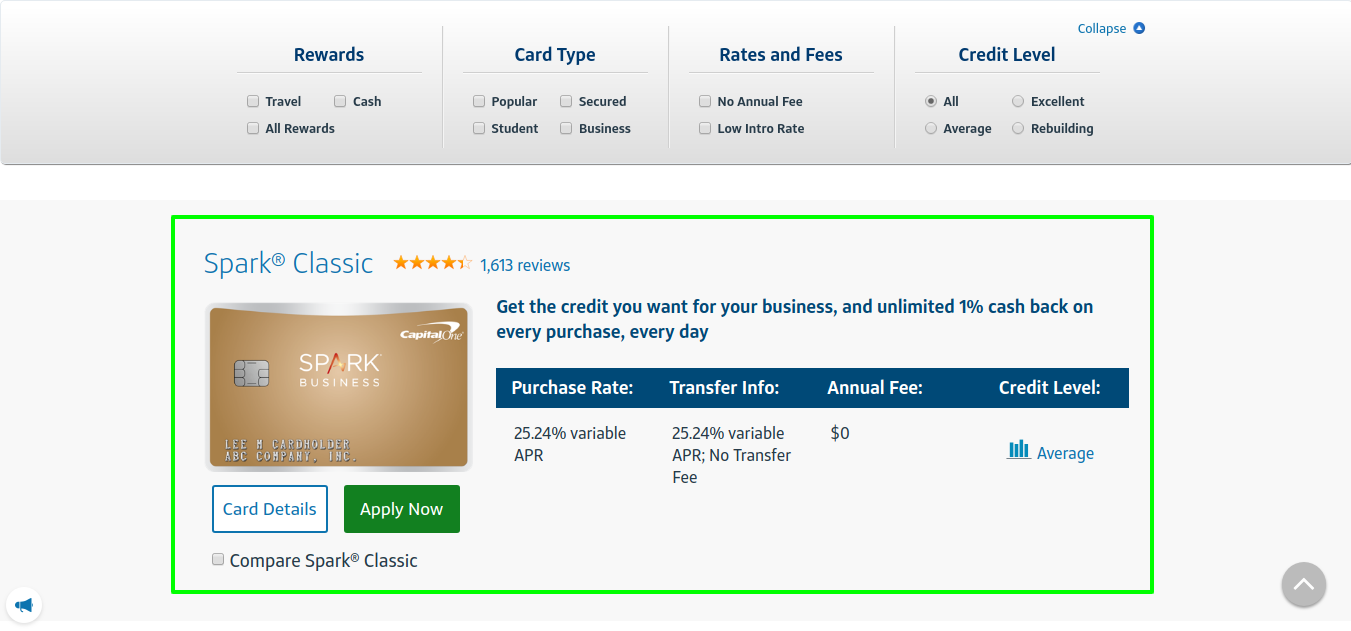Compare Credit Cards & Apply Online _ Capital One