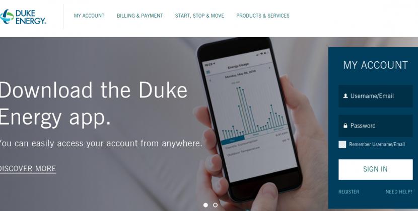 www.duke-energy.com – How To Pay The Duke Energy Bill Online