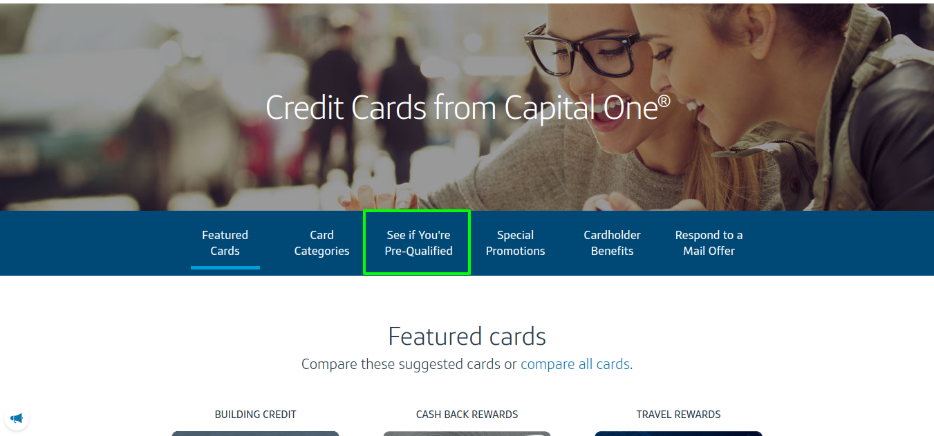 capital one platinum card pre qulify