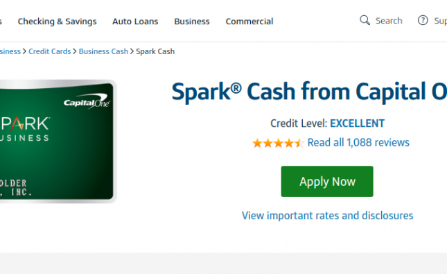 Spark Cash Credit Card Logo