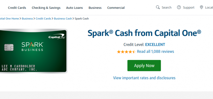 www.capitalone.com/credit-cards – Capital One Spark Cash Credit Card Bill Payment Guide