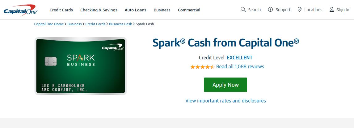 Spark Cash Credit Card Logo