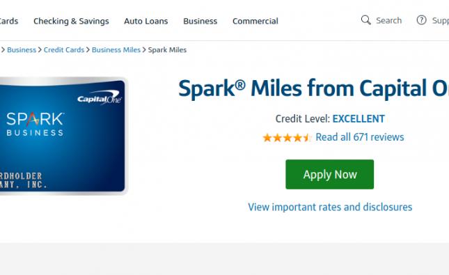 Spark Miles credit card logo