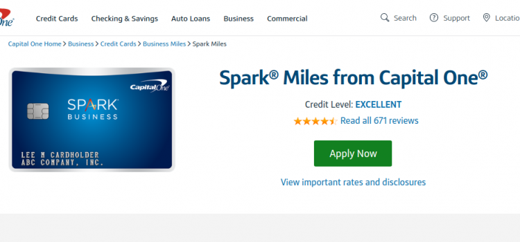 www.capitalone.com/credit-cards – Capital One Spark Miles Online Bill Payment Guide