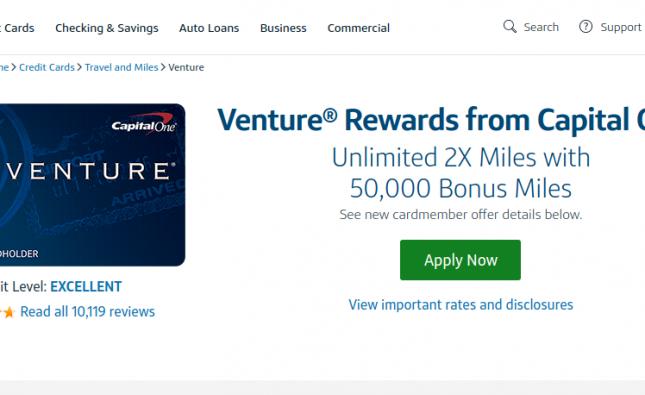 www.capitalone.com/credit-cards – Capital One Venture Rewards Card Bill Payment Process
