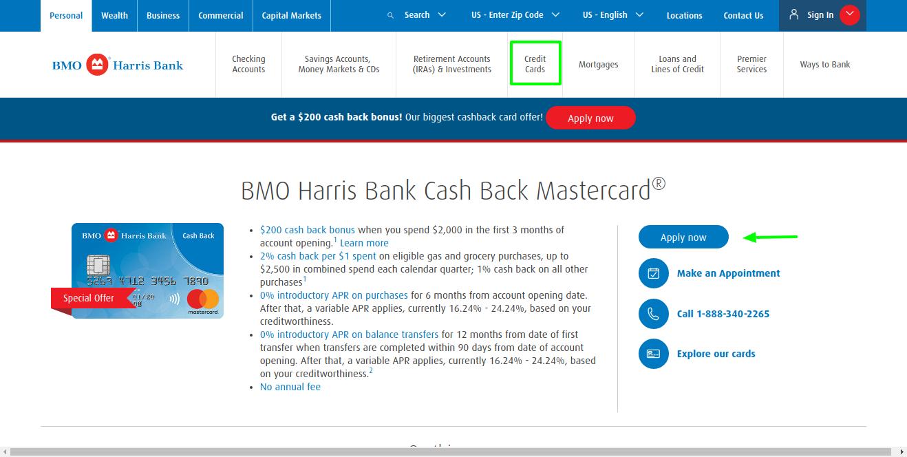 bmo-harris-cash-back-mastercard-apply