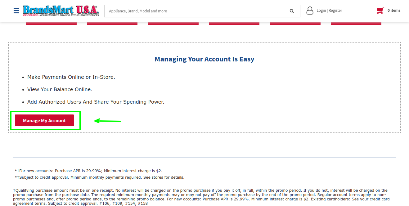 brandsmartusa-manage-account