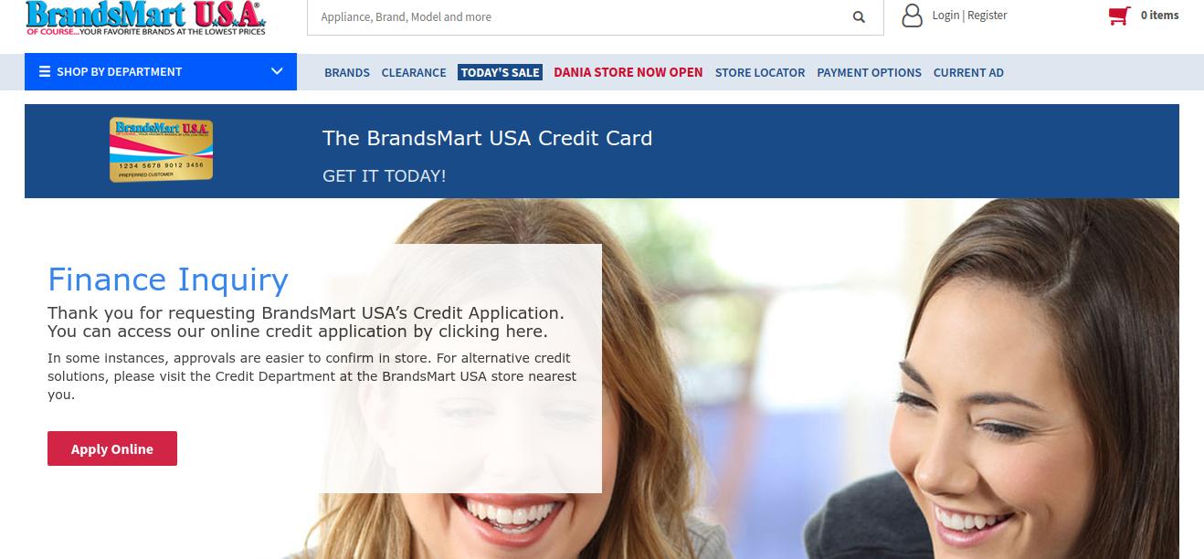 Www Brandsmartusa Com Synchrony App Online Brandsmart Usa Credit Card Bill Payment Guide
