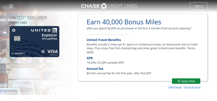 creditcards.chase.com – How To Pay Chase United Explorer Card Bill