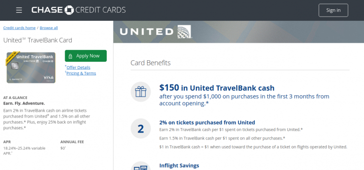 creditcards.chase.com – Chase United TravelBank Credit Card Bill Payment Guide
