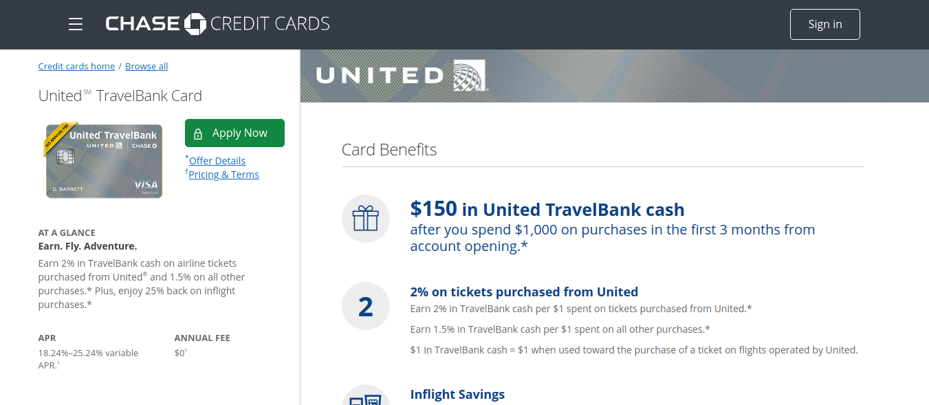 contact chase united credit card