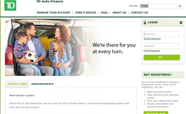 Wells Fargo Auto Loan Payment Process