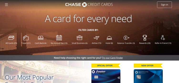 www.chase.com – Chase Southwest Rapid Rewards Credit Card Bill Payment Process