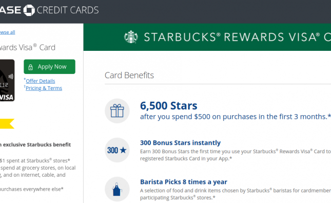 Starbucks Rewards Credit Card Logo