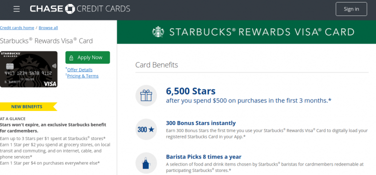 www.chase.com – Starbucks Rewards Visa Card Online Bill Payment Guide
