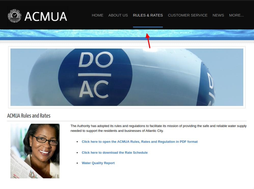Rules Rates - ACMUA