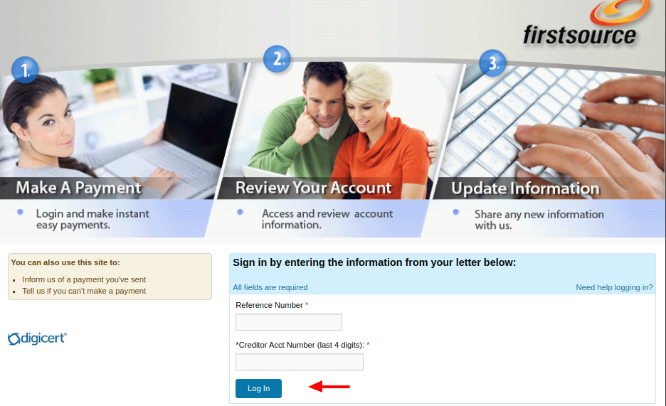 Firstsource Advantage LLC Login