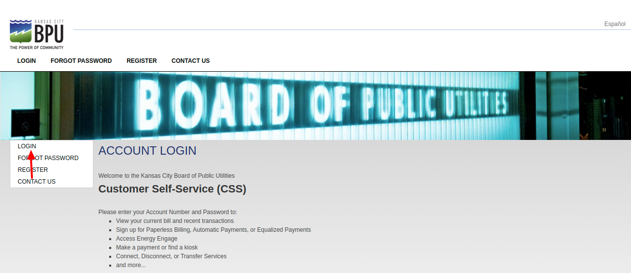 Kansas City Board of Public Utilities Login