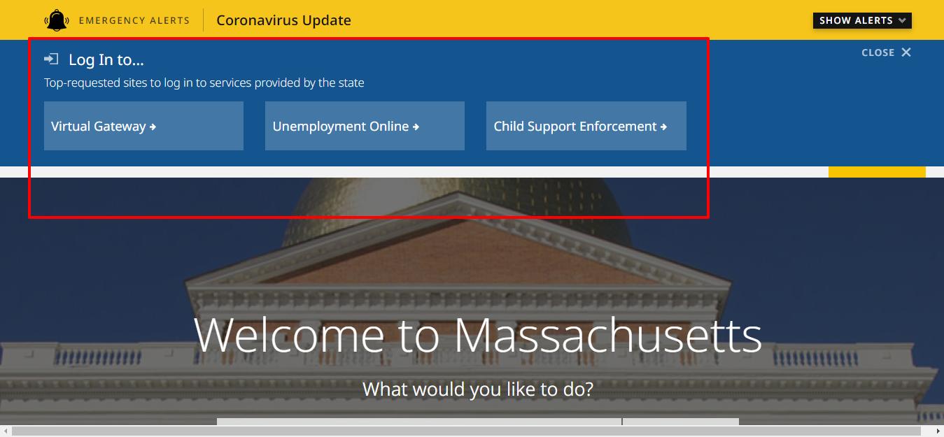 Mass gov login