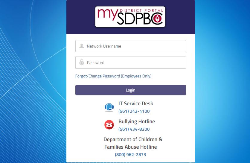 my district portal login