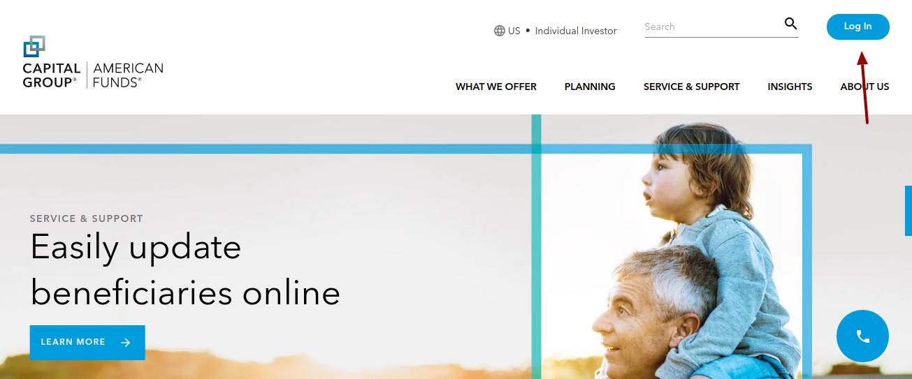 american funds 401k login